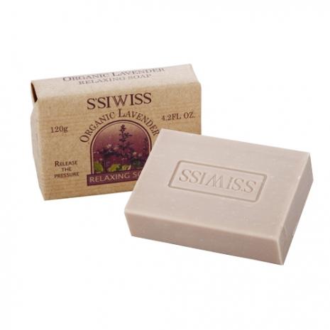 【S'SIWISS】薰衣草精油柔膚皂120g(買一送一)