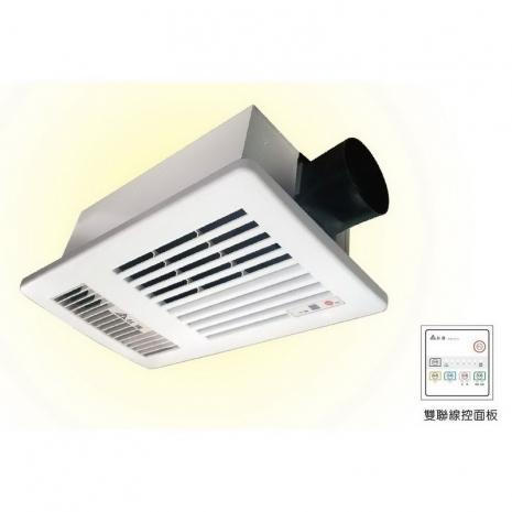 台達電子暖風機_37型  VHB37ACT2  110V線控
