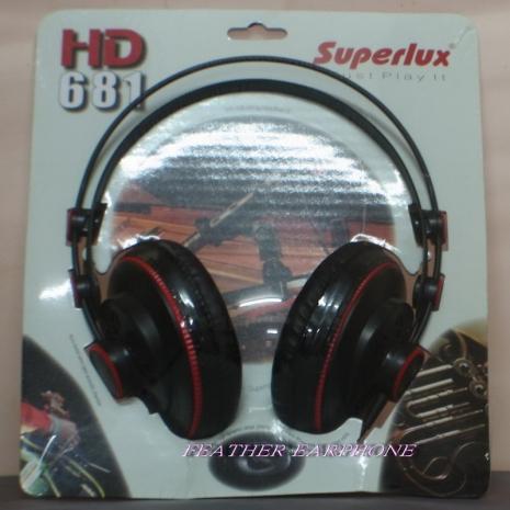 Superlux HD681(HD-681),開放式監聽耳罩式耳機,原廠公司貨,附保卡保固