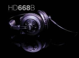 舒伯樂 Superlux HD668B,半封閉式全罩監聽耳機,可更換耳機線,原廠台灣代理商公司貨附保卡,保固一年