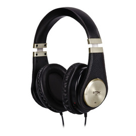TDK ST-750 (ST750)內建耳擴,高保真頭戴全罩式耳罩耳機,