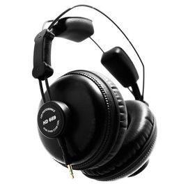 SUPERLUX HD669 / HD-669 全閉式專業錄音棚標準監聽用耳機 公司貨附保卡,保固一年,敢向HD25 PK挑戰的超高C/P值全罩耳機