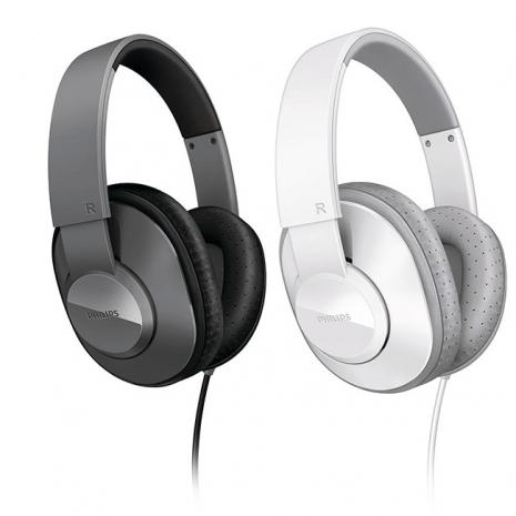 PHILIPS 飛利浦 SHL4500 輕量型 頭戴全罩式耳機