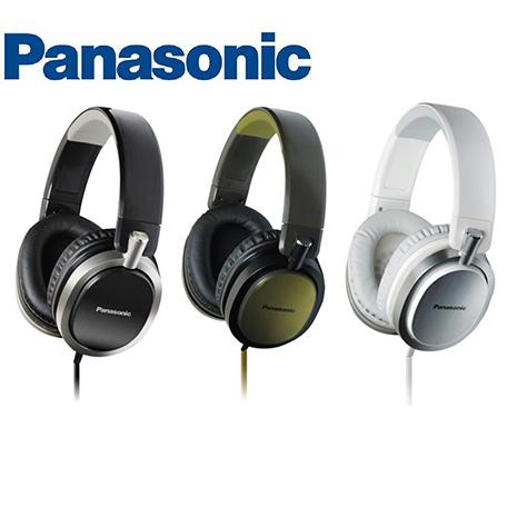 Panasonic RP-HX550 高音質超重低音,金屬髮絲紋,扁平耳機線,頭戴耳罩式耳機,公司貨,附保卡,上網登錄兩年保固