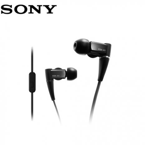 SONY XBA-A1AP 平衡電樞立體聲入耳式耳機,(附收納盒) 公司貨保固24個月