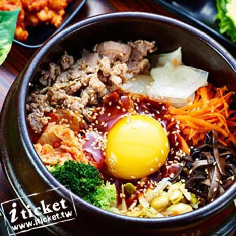 高雄 韓金閣韓式料理(明華店) 單人銅盤烤肉吃到飽【一套四張】
