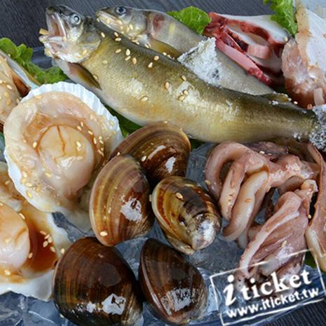 台中 可汗燒烤(國光店)-雙人吃到飽套餐優惠餐券[一套兩張]