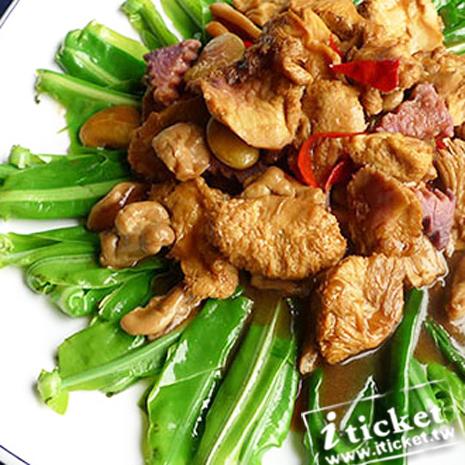 台中 華進素食婚宴會館-歐式自助百匯平日餐券[一套四張]