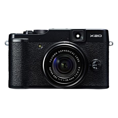 FUJIFILM X20 F2.0大光圈高階類單相機(公司貨)_黑色