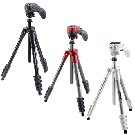 Manfrotto MKCOMPACTACN COMPACT系列 五節腳架