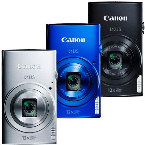 Canon IXUS 170 12倍光學變焦隨身機(公司貨)-送保護貼+讀卡機+清潔組+小腳架+配件收納包