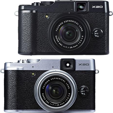 FUJIFILM X20 F2.0大光圈高階類單相機(平輸中文)