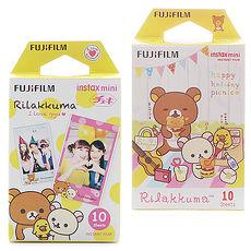 FUJIFILM mini 拉拉熊~野餐款 我愛拉拉熊 拍立得底片^(2盒裝^)~ ~