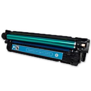 HP【台灣耗材】全新相容碳粉匣 CE251A藍色 (504A) 適用HP Color LaserJet CP3525N/CP3525/CM3530 印表機
