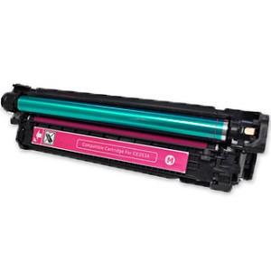HP【台灣耗材】全新相容碳粉匣 CE253A紅色 (504A) 適用HP Color LaserJet CP3525N/CP3525/CM3530 印表機