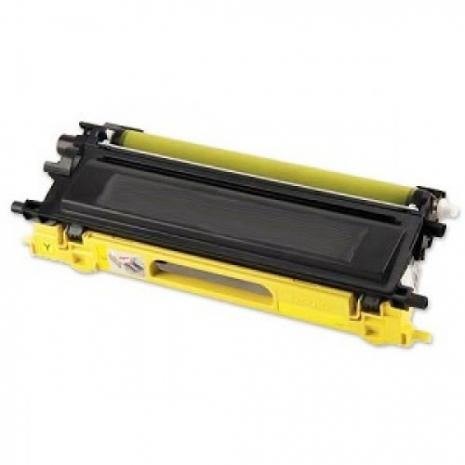 Brother【台灣耗材】全新相容碳粉匣 TN-210Y/TN210Y 黃色 適用MFC-9010CN/MFC-9120CN/HL-3040CN雷射印表機