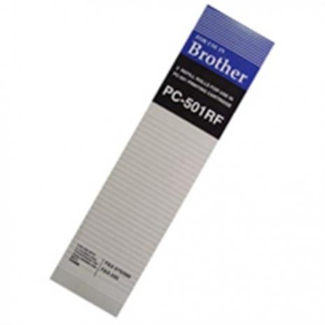 Brother【台灣耗材】傳真機相容轉寫帶PC-501RF(一盒2入) 適用Brother FAX-575/FAX-585/FAX-595傳真機