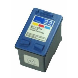 HP【台灣耗材】環保相容墨水匣 C9352A (22)彩色 適用HP印表機型號PSC1402/ 1410/ DJ3920/ DJ3940/ D2360/ F2120/ F380/ F2235