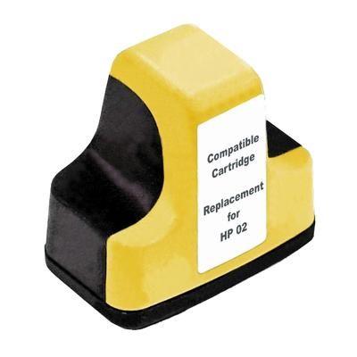 HP【台灣耗材】環保相容墨水匣 C8773WA(02) 黃色 適用HP印表機型號HP Photosmart C7280/3110/3310/8230/C5180/C6180/C6280/C7180/C8180/D7160/D7260/D7360/D7460