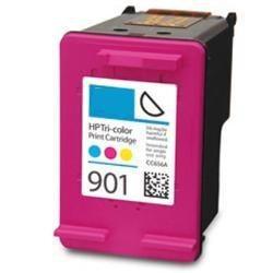 HP【台灣耗材】環保相容墨水匣 CC656AA (NO.901) 彩色 適用HP印表機型號HP J4500/J4524/J4535/J4580/J4585/J4624/J4660