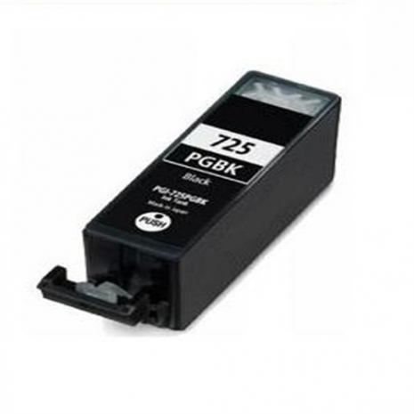 CANON 【台灣耗材】全新相容墨水匣 PGI-725BK 黑色 適用IP4870/IP4970/MG5270/MG6170/MX886/MG5370/MG6270/MX886/IX6560印表機