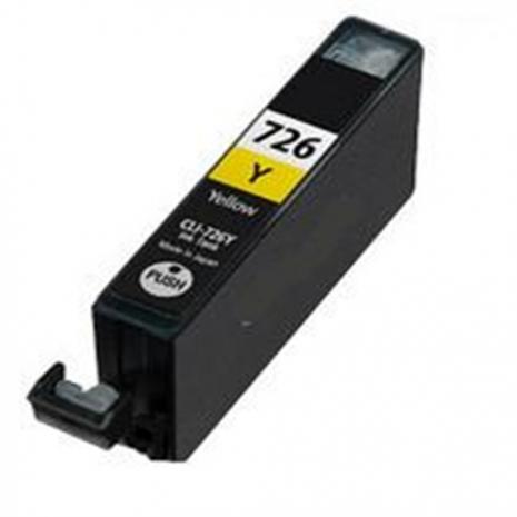CANON【台灣耗材】全新相容墨水匣 CLI-726Y 黃色 適用IP4870/IP4970/MG5270/MG6170/MX886/MG5370/MG6270/MX886/IX6560印表機