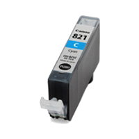 CANON【台灣耗材】全新相容墨水匣 CLI-821C 藍色 適用iP3680/iP4680/MP638/MX868印表機