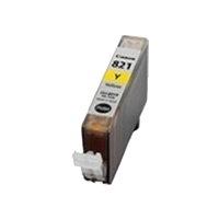 CANON【台灣耗材】全新相容墨水匣 CLI-821Y 黃色 適用iP3680/iP4680/MP638/MX868印表機