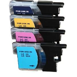 Brother【台灣耗材】環保相容墨水匣LC39/LC-39/LC985/LC-985藍色 適用DCP-J125,J315W,J515W,DCP-165C,MFC-290C,J265W,J410,J415W,J220,MFC-5490CN,MFC-5890CN,MFC-790CW,MFC-J410,MFC-J415W