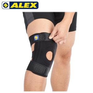 ALEX專業護具- ALEXT-42 矽膠雙側條護膝套