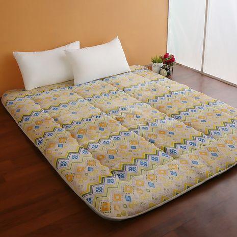 【契斯特】8公分厚實京都日式床墊-雙人加大-金式法頌(雙11特賣)