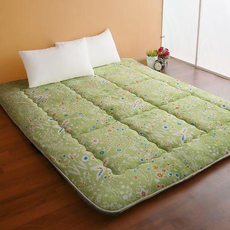【契斯特】8公分厚實京都日式床墊-雙人加大-綠野方舟(雙11特賣)