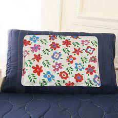 CoolCold 雙重強效防蚊激涼冷凝枕墊~2入~夏日花園^(APP限定^)