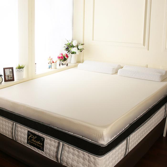 【契斯特】12公分幸福舒適透氣記憶床墊-單人加大3.5尺-3色任選(APP限定)