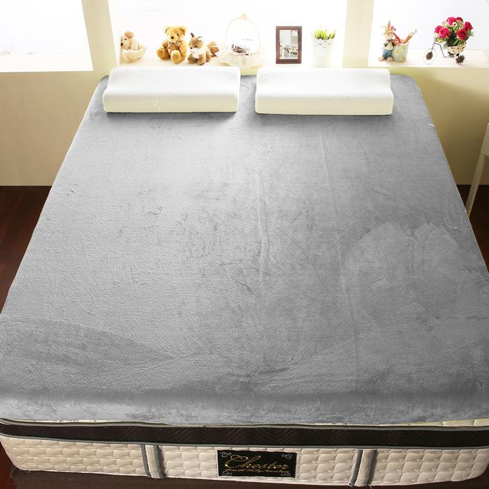 【契斯特】12公分柔暖法蘭絨記憶床墊-單人3尺-6色任選(雙11特賣)