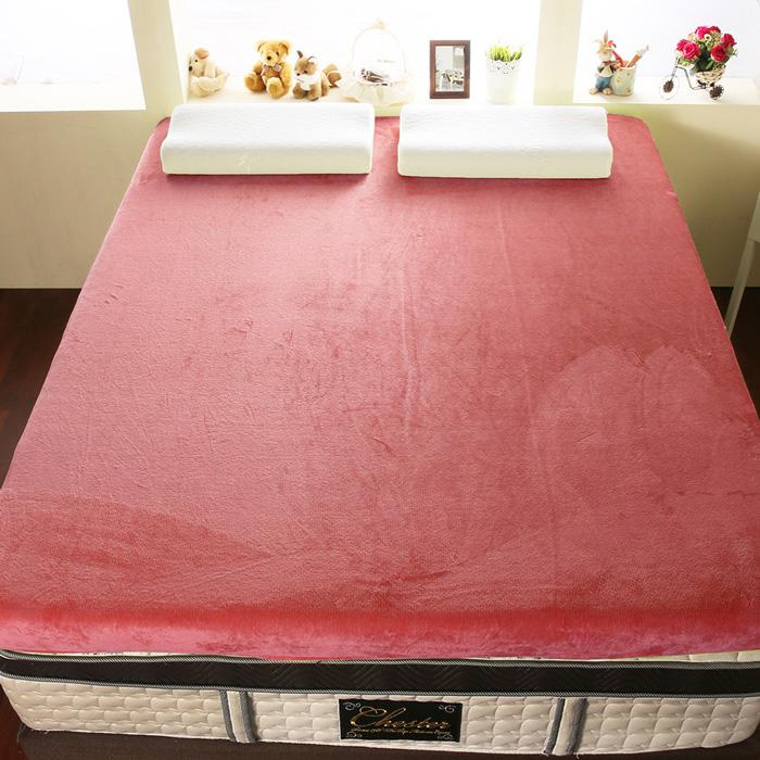 【契斯特】12公分柔暖法蘭絨記憶床墊-單人3.5尺-6色任選(APP限定)