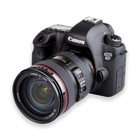 CANON EOS 6D 24-105 mm 變焦鏡組 (公司貨)