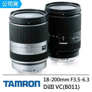 TAMRON 18-200mm F/3.5-6.3 DiIII VC (B011)  FOR  CANON EOS-M(公司貨)