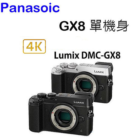 Panasonic LUMIX DMC-GX8 BODY 單機身(公司貨)