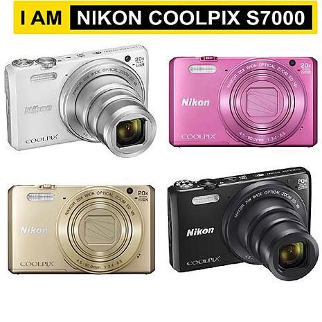 Nikon COOLPIX S7000 20倍光學變焦機(公司貨)
