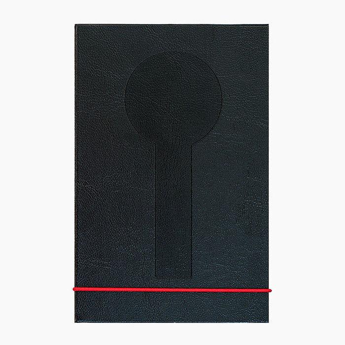 MONDAINE 瑞士國鐵直式筆記本-黑