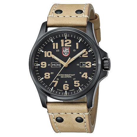 LUMINOX雷明時ATACAMA 戰場系列4.5cm腕錶-卡其 LM-A1925