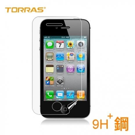 【TORRAS】APPLE iPhone4/4S 防爆鋼化玻璃貼 G PE 系列 9H硬度 2.5D導角 0.3MM 弧面切割