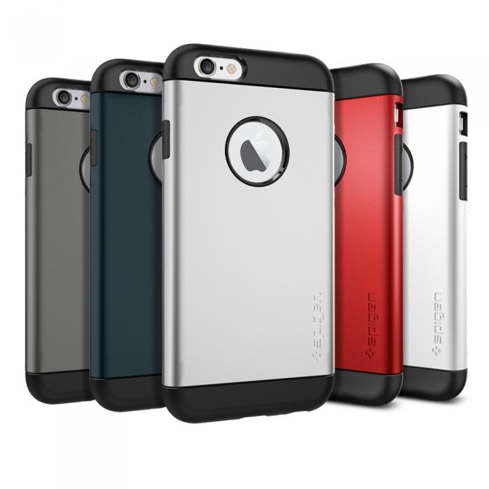 【限時下殺特賣】【SGP/Spigen】iPhone 6s/6 (4.7吋)  Slim Armor 雙層吸震保護殼