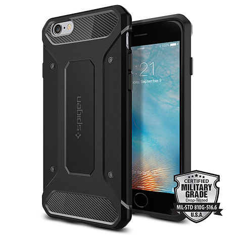 【SGP / Spigen】iPhone 6s Plus / 6 Plus Rugged Armor 強化吸震保護殼