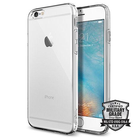 【SGP/Spigen】iPhone 6s/6 Capsule 超薄吸震軟式保護殼