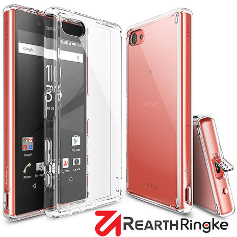 【Rearth Ringke】Sony Xperia Z5 Compact (Z5C) Fusion 透明背蓋手機保護殼