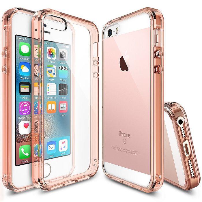 RINGKE iPhone SE/5S/5 Fusion 透明背蓋手機殼