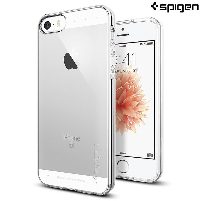 【SGP/Spigen】iPhone SE/5S/5 Liquid Armor 超薄透明軟質手機殼
