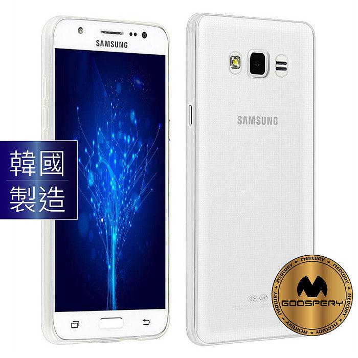 GOOSPERY三星Galaxy J7(2016)/ J5(2016)防塵超薄TPU透明軟殼手機保護殼